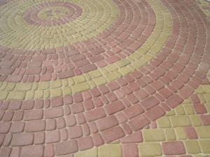 Плитка, изготовленная методом вибролитья
