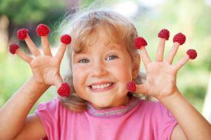 Польза малины для детей